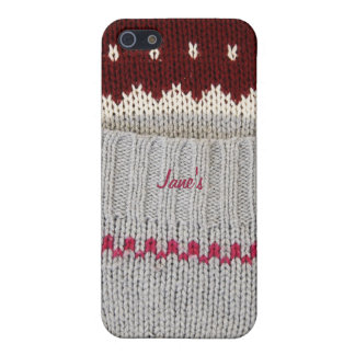 Knitted Dress iPhone case Case For The iPhone 5