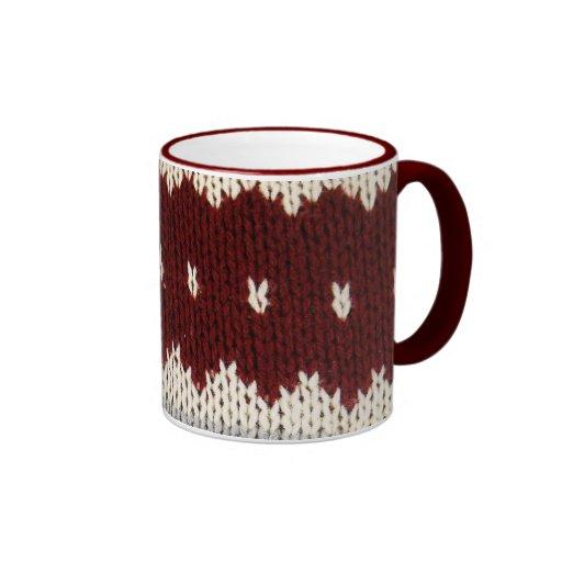 Knitted Fashion Coffee Mugs
