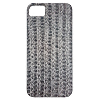 Knitted grey pattern iPhone 5 cover