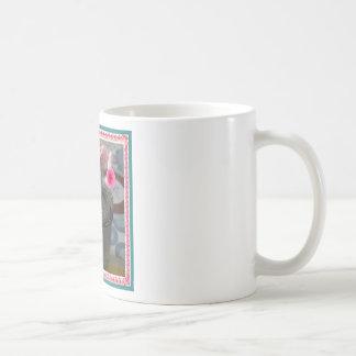 knitted mouse mug