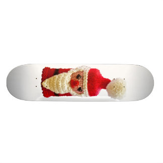 Knitted santa claus 20.6 cm skateboard deck