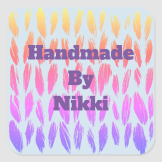 Knitted Sticker