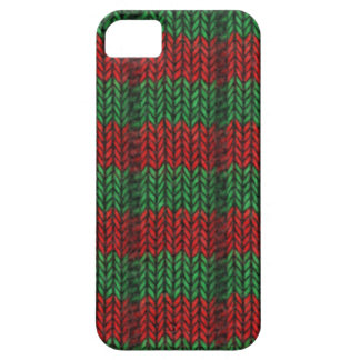 Knitted striped pattern barely there iPhone 5 case