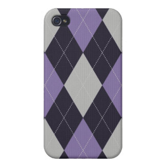 Knitted Style Argyle Iphone Case iPhone 4/4S Cover
