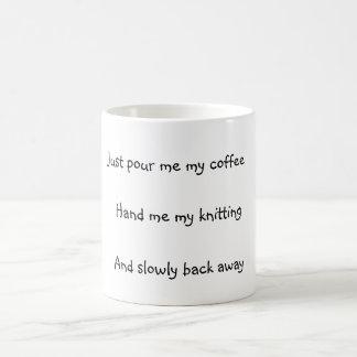 Knitter's Coffee Mug