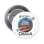 Knitters for Obama Button #1