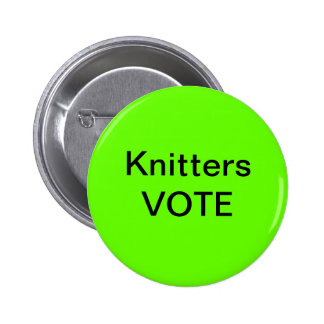 Knitters Vote Buttons