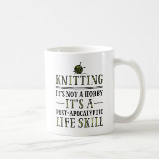 Knitting: A Post-Apocalyptic Life Skill Mugs