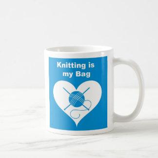 Knitting Bag Coffee Mug