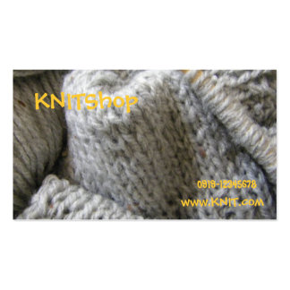 Knitting/ Business Card Templates