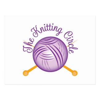 Knitting Circle Postcard