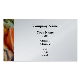 Knitting For Baby - Platinum Finish Pack Of Standard Business Cards