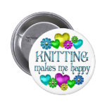 Knitting Happiness Badges