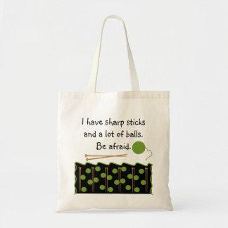 Knitting Humour Bag