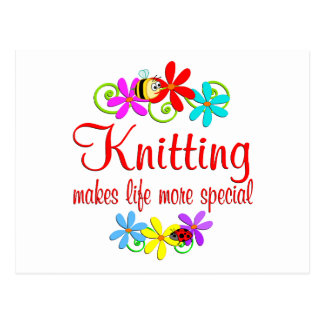 Knitting is Special Post Cards
