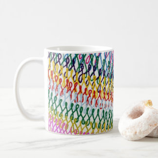 Knitting knitting magnet coffee mug