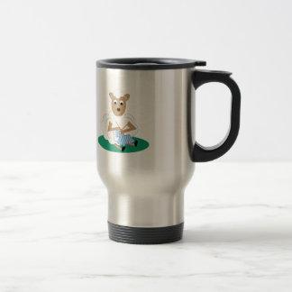 Knitting Lamb Coffee Mug