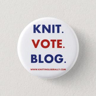 Knitting Liberally Button