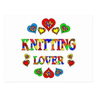 Knitting Lover Postcards
