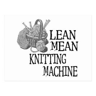 Knitting Machine Post Cards