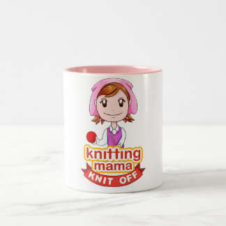 Knitting Mama Mug