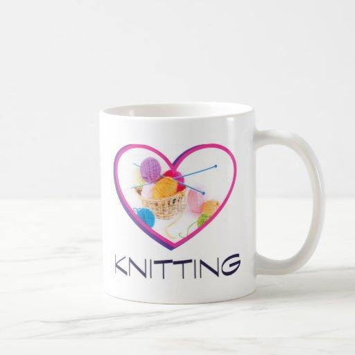 Knitting Coffee Mug