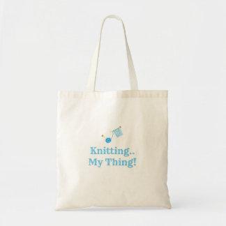 Knitting..My Thing! Tote Bag