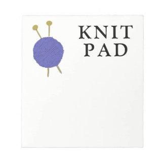 Knitting Notepad