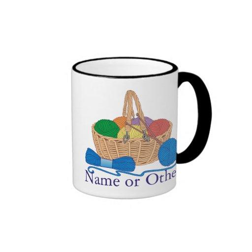 Knitting Personalized Mug