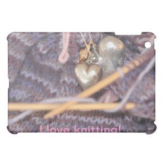 Knitting photo cover for the iPad mini