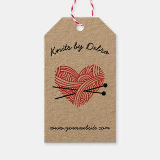 Knitting Shop • Yarn / Fibre Artist Handmade Gift Tags