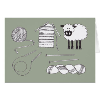 Knitting Stuff Card