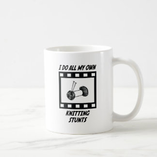 Knitting Stunts Mug