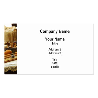 Knitting Supplies Pack Of Standard Business Cards