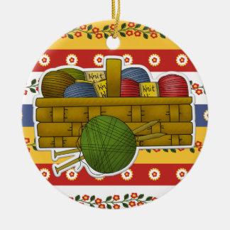 Knitting Tag / Ornament - SRF
