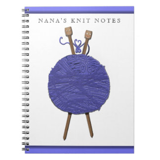knitting-themed gifts notebook