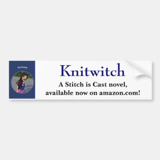 Knitwitch Bumper Sticker