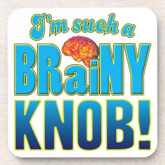 Knob Brainy Brain Coasters