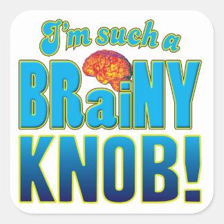 Knob Brainy Brain Stickers