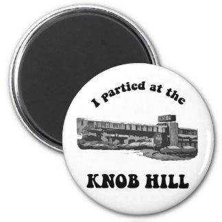 Knob Hill Fridge Magnet