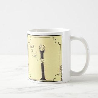 Knock it off basic white mug