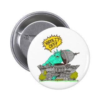 Knock It Off Washington 6 Cm Round Badge