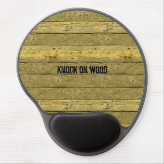 Knock On Wood Novelty Gel Mousepad