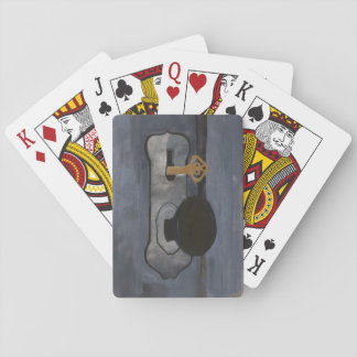 Knock original art by: ZinkitDesigns playing cards