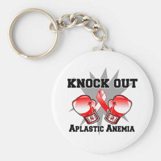 Knock Out Aplastic Anemia Key Chains
