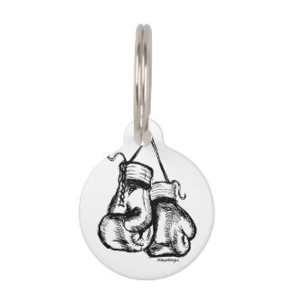 Knock Out Cancer Pet Tag
