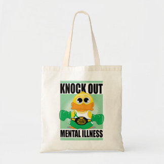 Knock Out Mental Illness Tote Bag