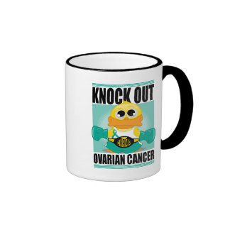 Knock Out Ovarian Cancer Mugs