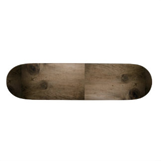 Knot in wood skateboards