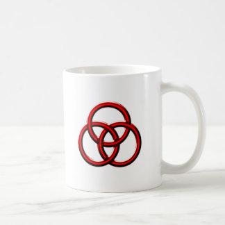 Knot of circles circles knot mug